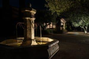 La Fontaine de l'entrée