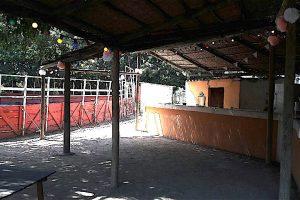 Bar extérieur & arènes