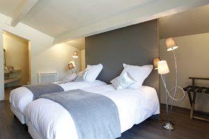 Chambre avec lit King Size ou 2 x 90