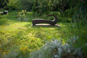 Sculpture du parc