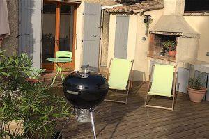 Le studio indépendant et terrasse