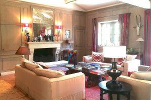Le grand salon avec cheminée