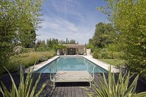 La piscine chaufféee