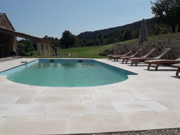 L'espace piscine