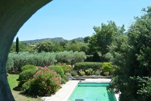 location saisonniere vacances piscine eygalieres alpilles