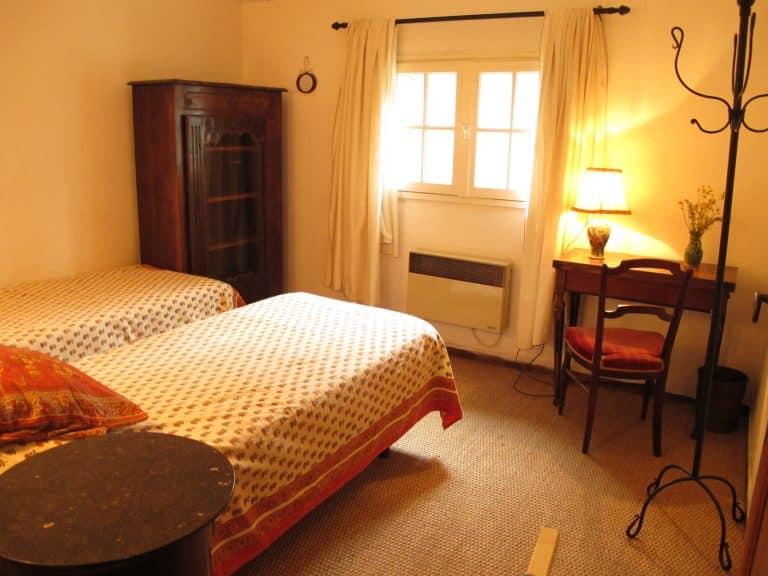 maison vacances alpilles chambre
