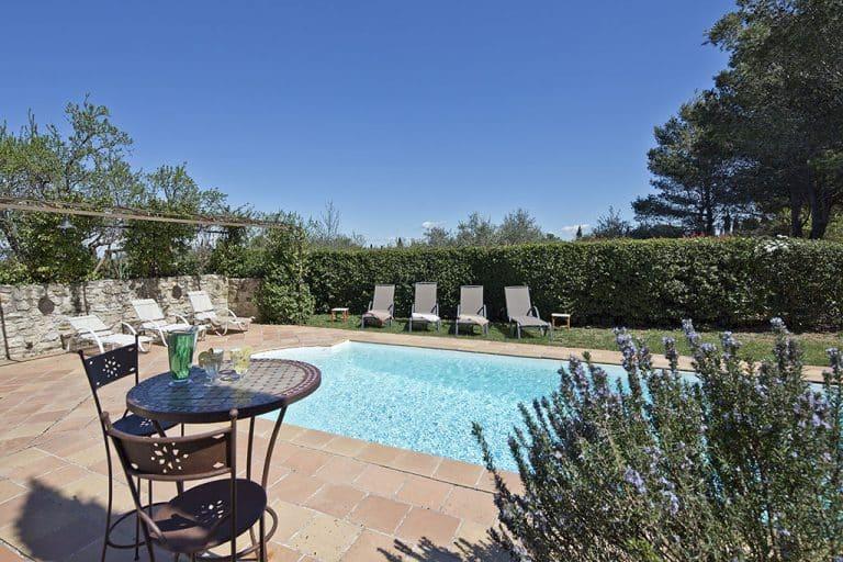 location villa vacances st rémy piscine