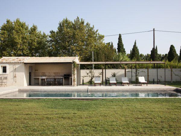 location villa alpilles saint remy provence