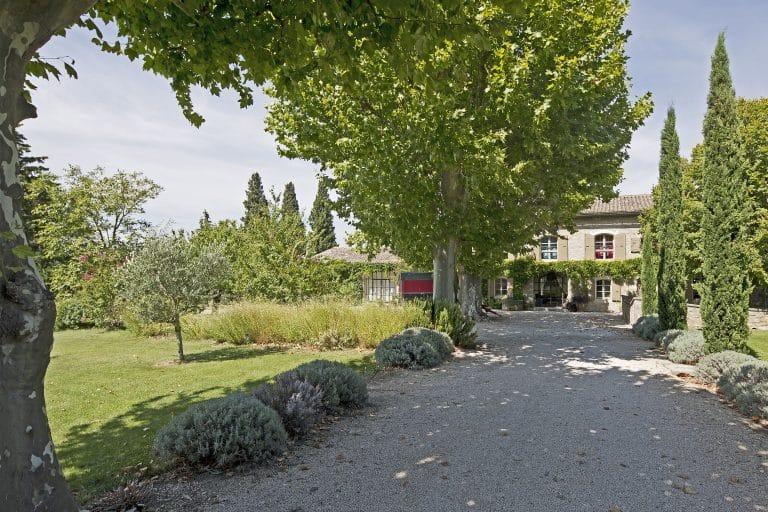 villa saisonnière alpilles