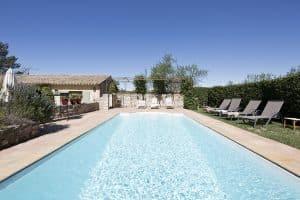 location villa saisonniere piscine saint remy provence