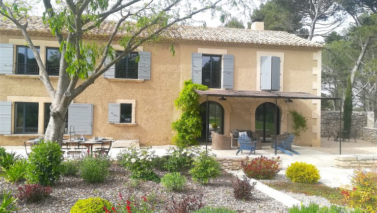 Location maison vacances piscine saint remy provence
