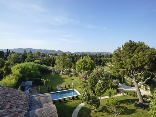 location vacances villa piscine saint remy provence