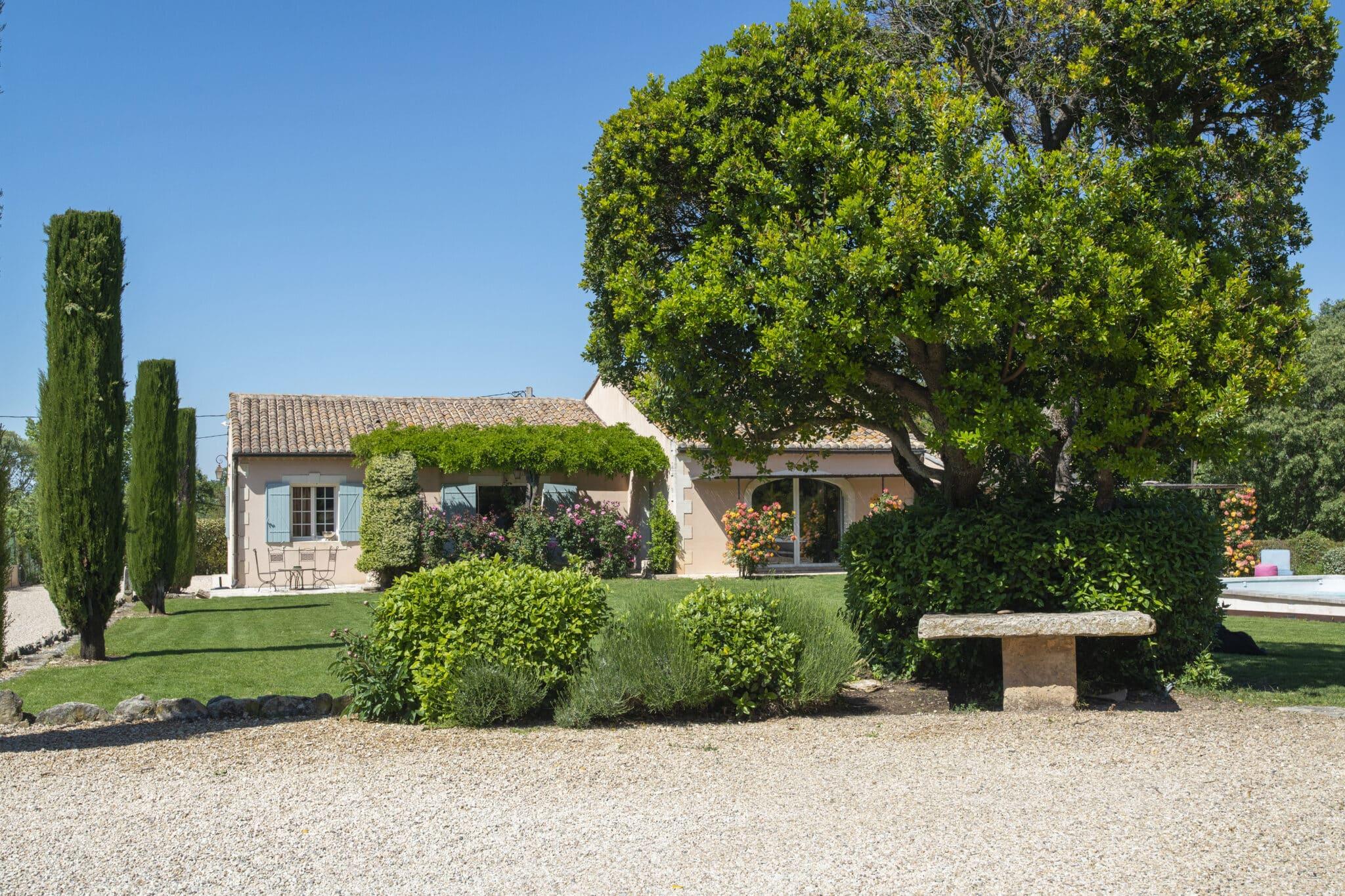Location maison vacances piscine st remy provence
