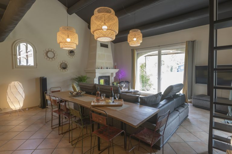 villa charme location alpilles