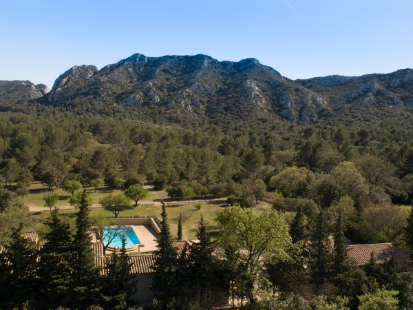 location vacances villa piscine st remy provence