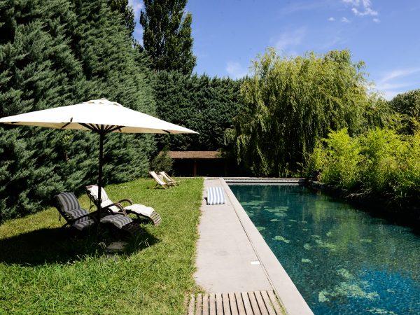 location vacances avec piscine à Eygalières