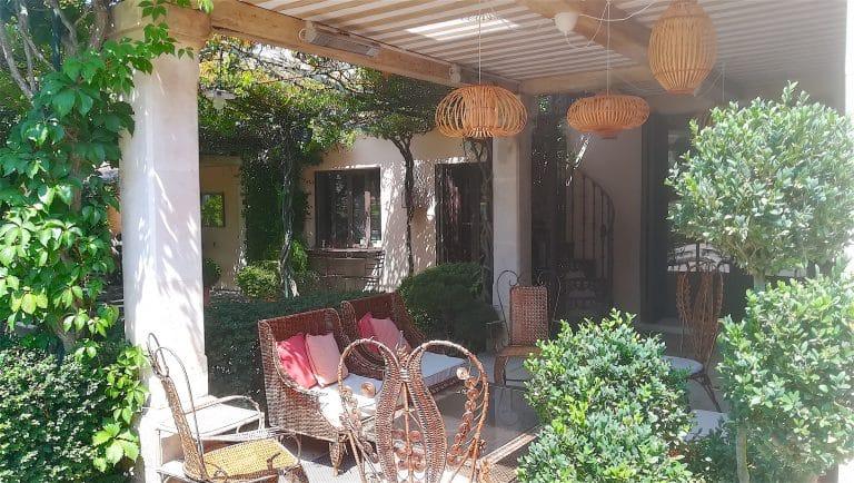 location saisonniere villa luxe saint remy provence alpilles