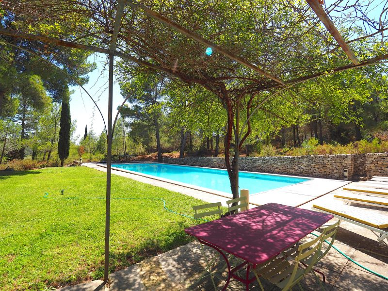 location villa alpilles