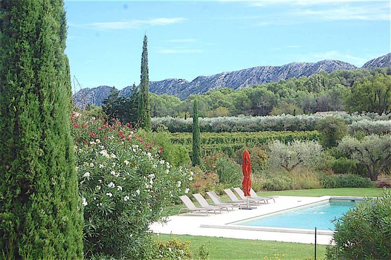 location vacances maison piscine saint remy provence