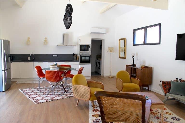 location vacances villa piscine saint remy provence