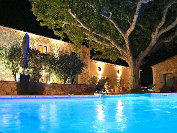 location vacances alpilles maison piscine