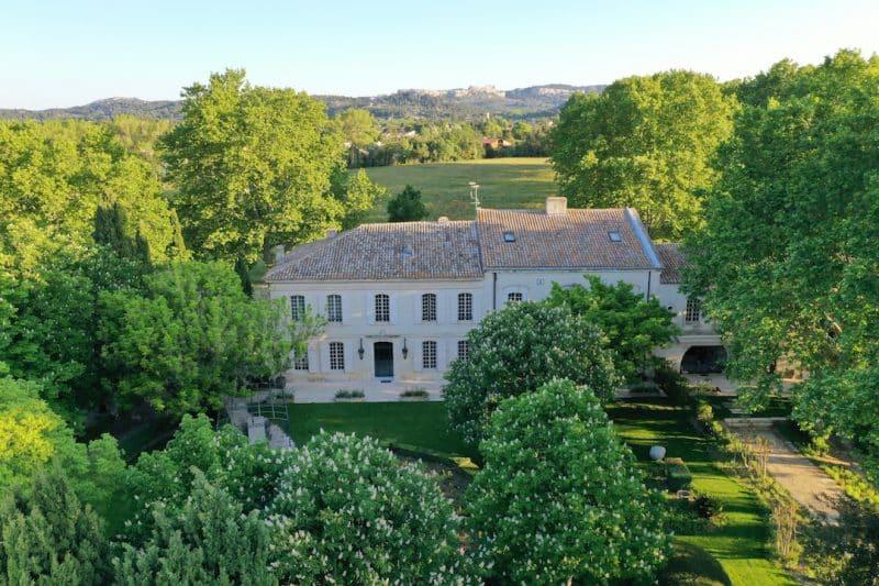 villa luxe alpilles vacances