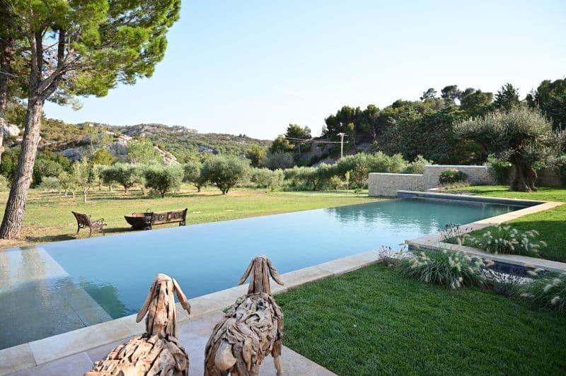 villa luxe location alpilles