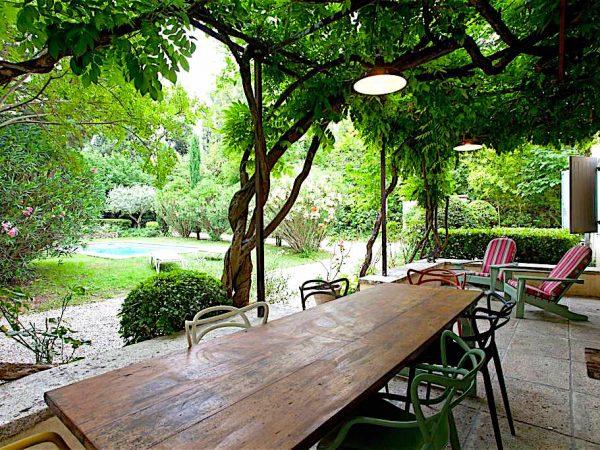 location vacances maison piscine st remy provence