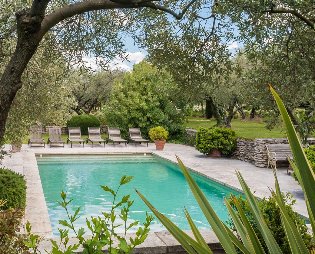location vacances villa luxe alpilles jardin