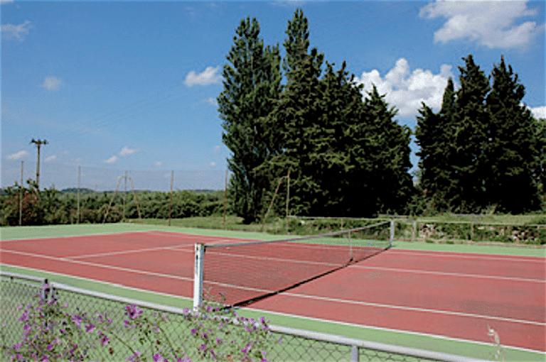 location propriete piscine tennis alpilles