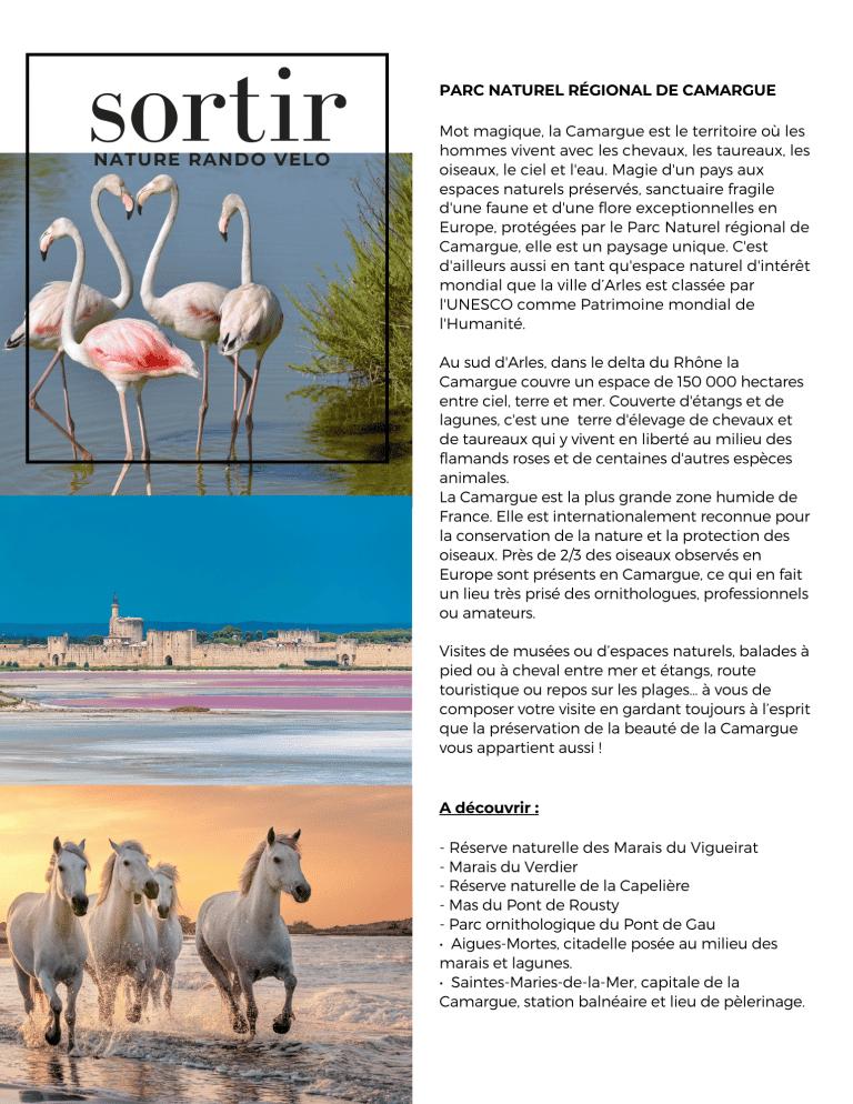 camargue parc naturel provence