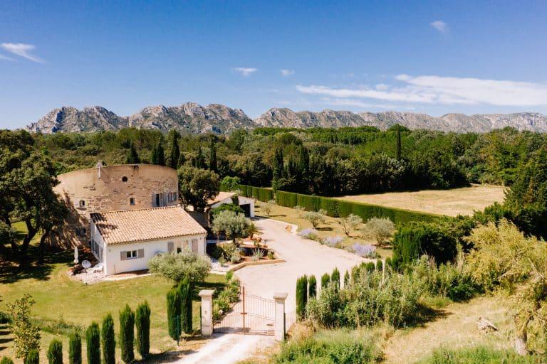 villa vacances alpilles provence