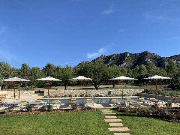 location villa luxe eygalieres vacances