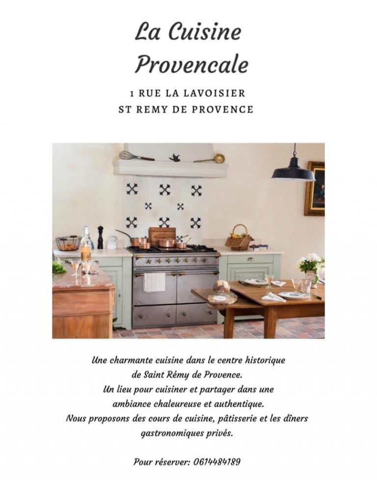 cuisine provençale alpilles