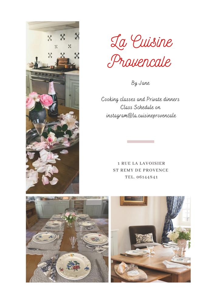 COOKING PROVENCE