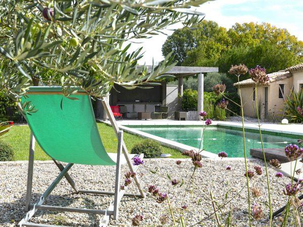 provence vacation villa pool