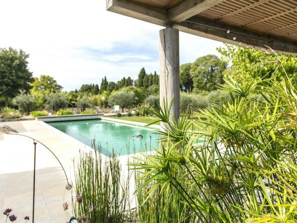 location saisonnière alpilles piscine