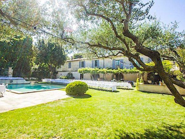 location propriété mariages provence Camargue