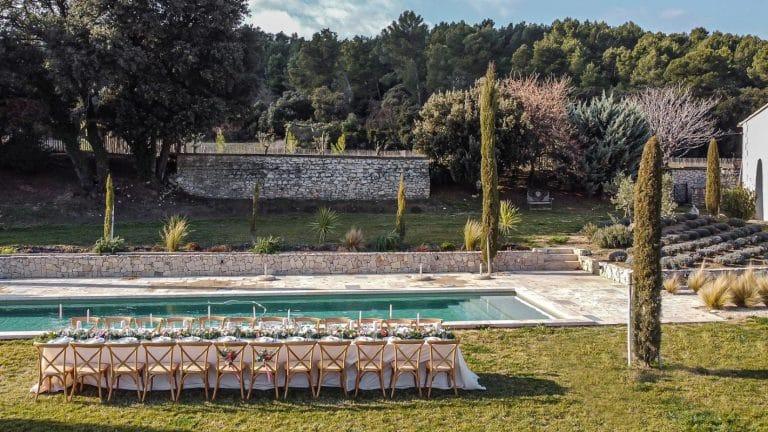 Provence wedding venue rental